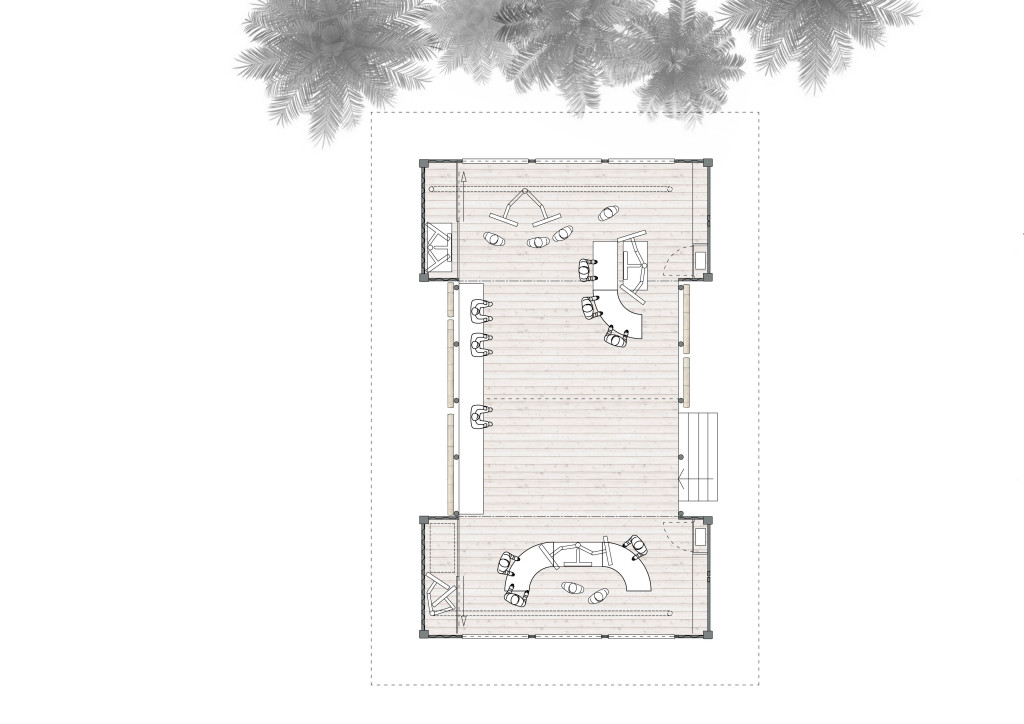 20x20ft Floor Plan