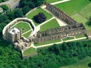 Bolsover aerial view