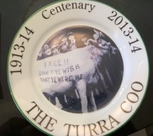 Turra Coo plate