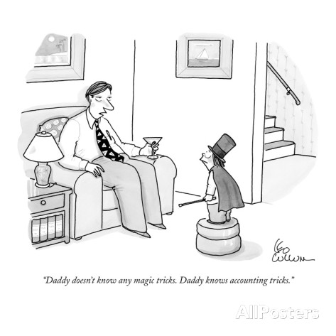 leo-cullum-daddy-doesn-t-know-any-magic-tricks-daddy-knows-accounting-tricks-new-yorker-cartoon