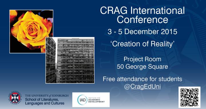 Crag Confluence 2015 - Programme
