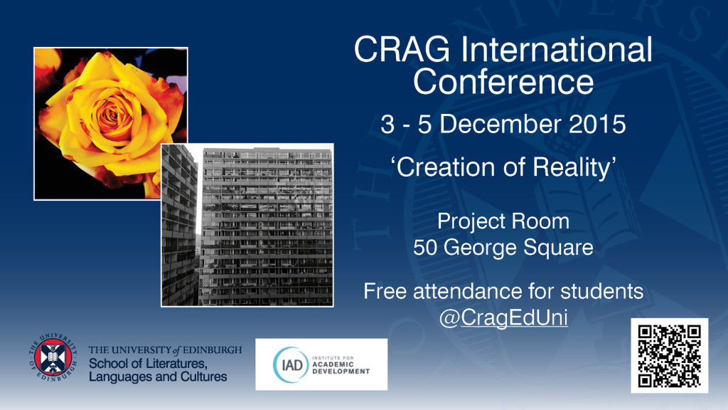 CRAG Conference 2015