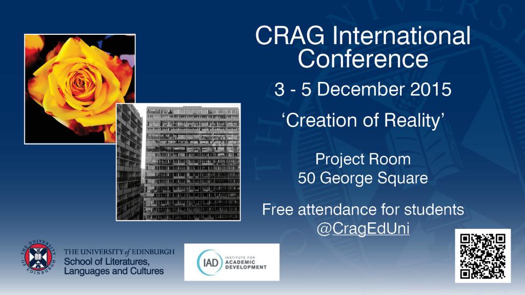 CRAG Conference 2015