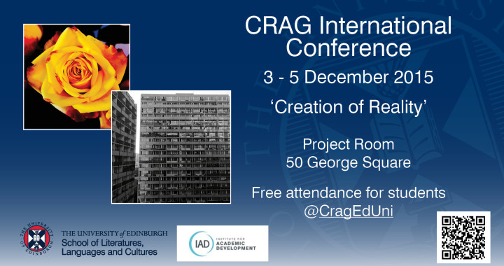 First Crag International Interdisciplinary Conference on 'Creation of Reality'
