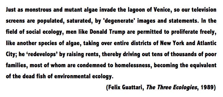 Félix Guattari on Donald Trump (1989)