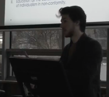 Politics and the Grammar of Reality, a Crag Talk by Nicholas G.S. Saul