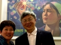 PPAC director Yang Pei-Ming with his wife