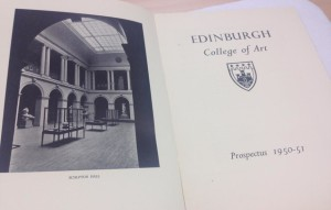 Phot of an ECA prospectus from the early 1950s
