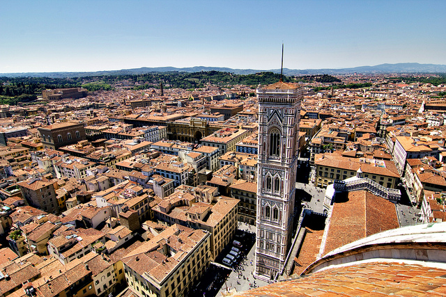 View of Florence. Image by Artur Staszewski, used under a Creative Commons license: http://bit.ly/view-of-florence