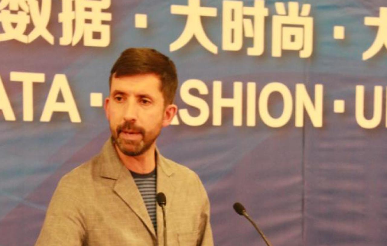 Chris Breward in Shanghai