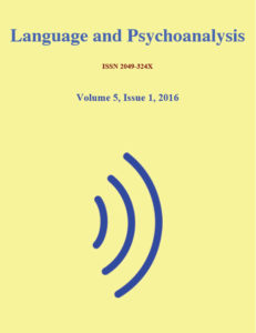 Language and Psychoanalysis Journal cover