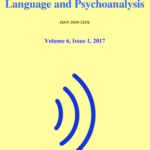 "New issue of ""Language and Psychoanalysis"" Volume 6 Issue 1 Spring/Summer 2017"