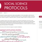 "New open-access journal platform ""Social Science Protocols"""