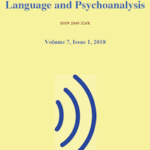 "New Issue of ""Language and Psychoanalysis"" Volume 7 Issue 1"