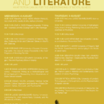 """Conference """"Madness and Literature"""" 8-9 August 2018 Aarhus University"""