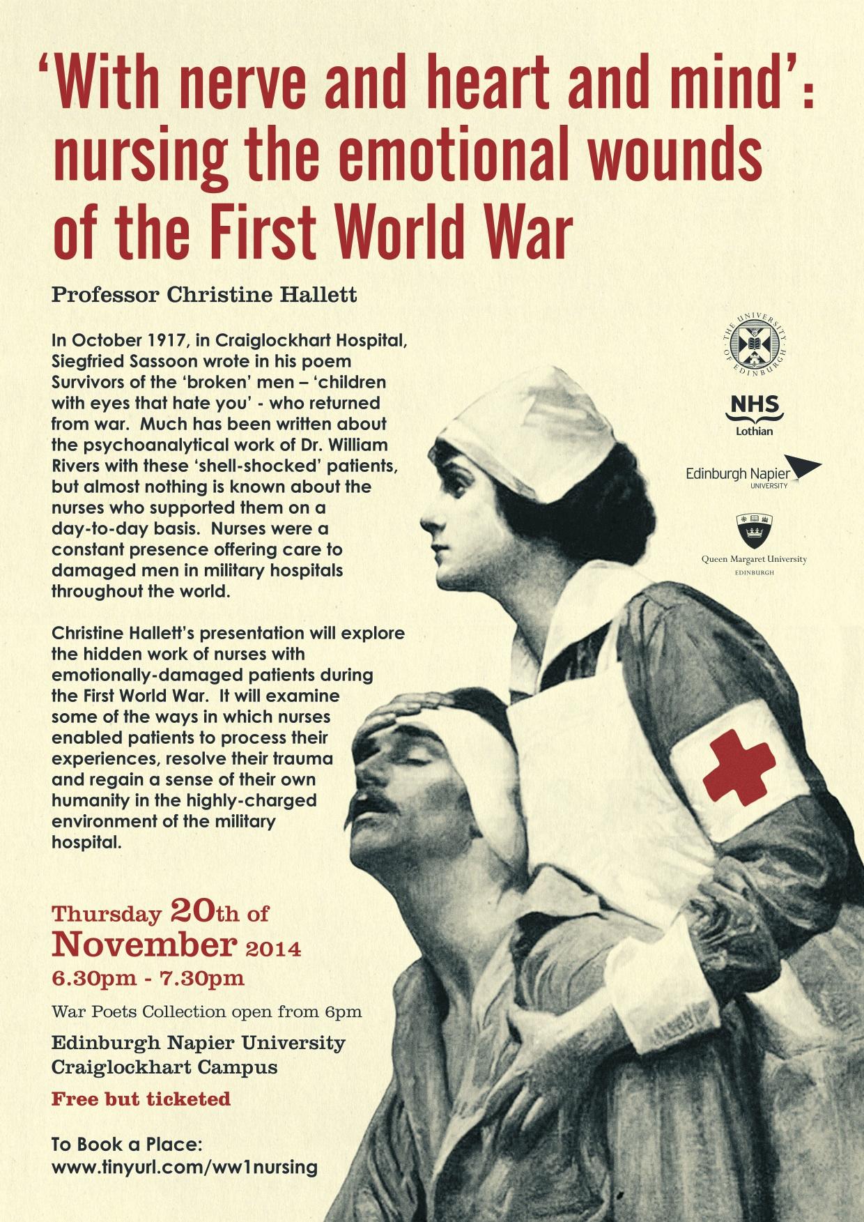 Nursing In World War One Nursing Talesnursing Tales