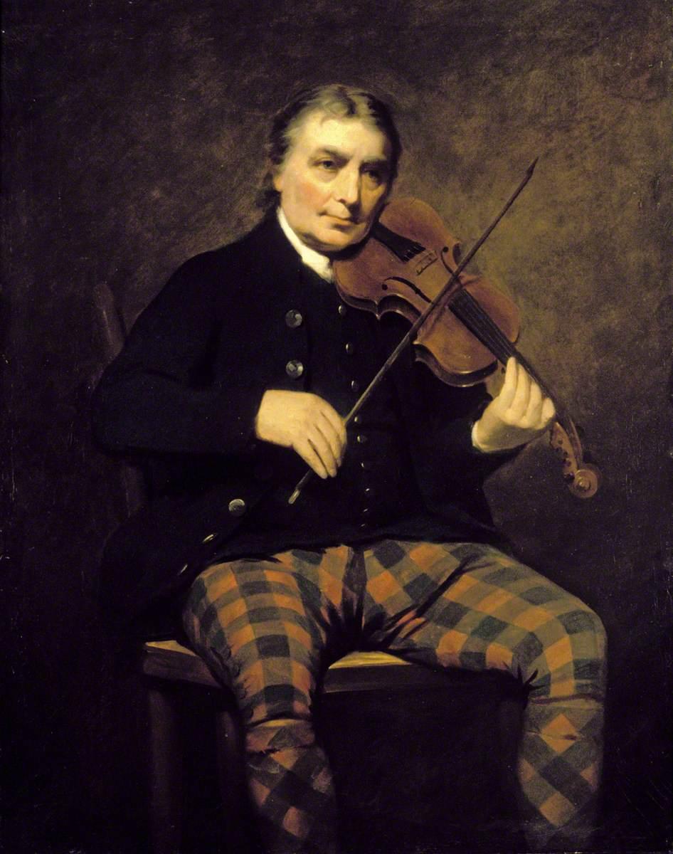 Raeburn, Henry; Niel Gow (1727-1807); Perth & Kinross Council; http://www.artuk.org/artworks/niel-gow-17271807-129700