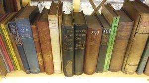 Archive bookshelf