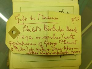 George MacDonald Birthday Book
