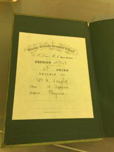 1892-3 school prize book