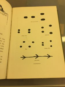 Animal tracks from c19th nature book