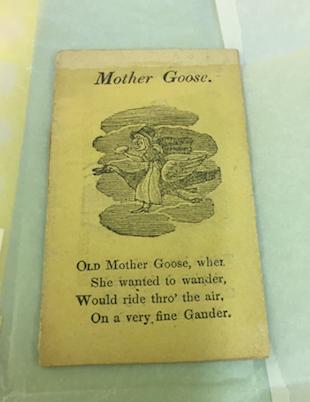 mother goose chapbook