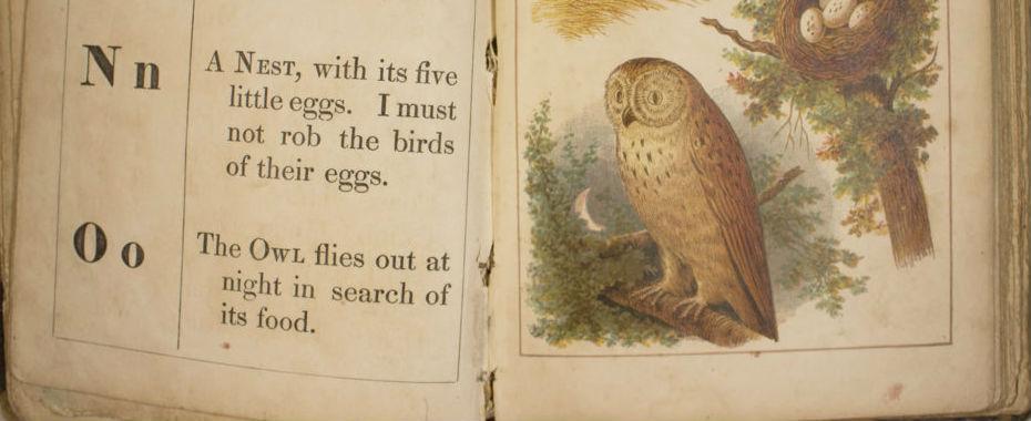 Child's alphabet book