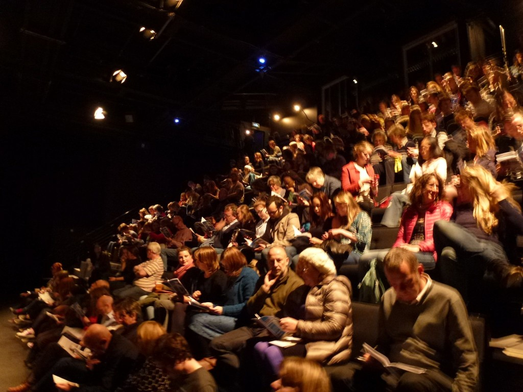 Audience at the Traverse.